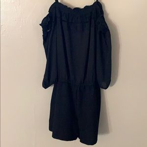 Juniors off the shoulder Romper from JcPenny